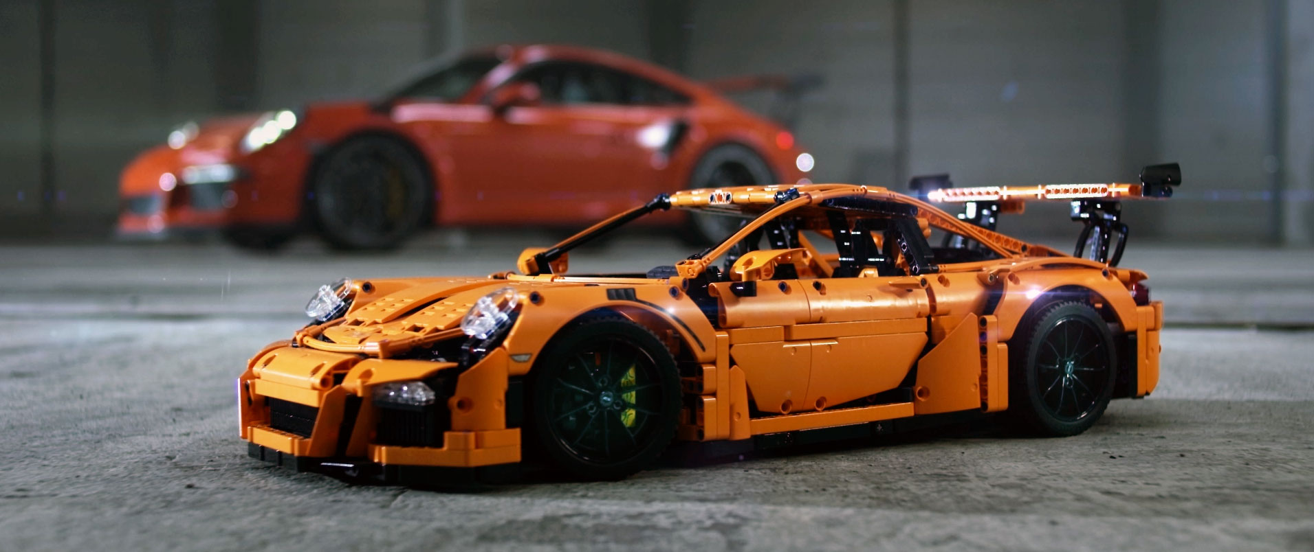 brickfinder win a lego technic porsche 911 gt3. Black Bedroom Furniture Sets. Home Design Ideas