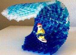 Wave Goodbye to 2016 with surfer santa