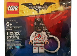 LEGO Kiss Kiss Tuxedo Batman Keychain