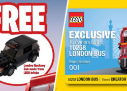 LEGO Singapore London Bus Exclusive Gift With Purchase