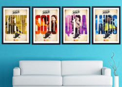 LEGO Star Wars Solo posters