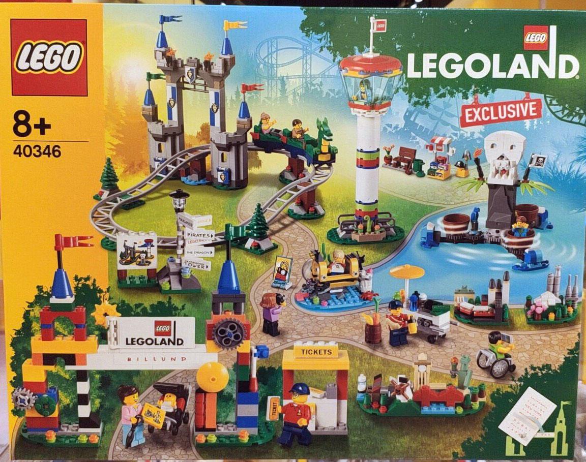 Brickfinder - Exclusive LEGOLAND Billund (40346) Set Spotted!