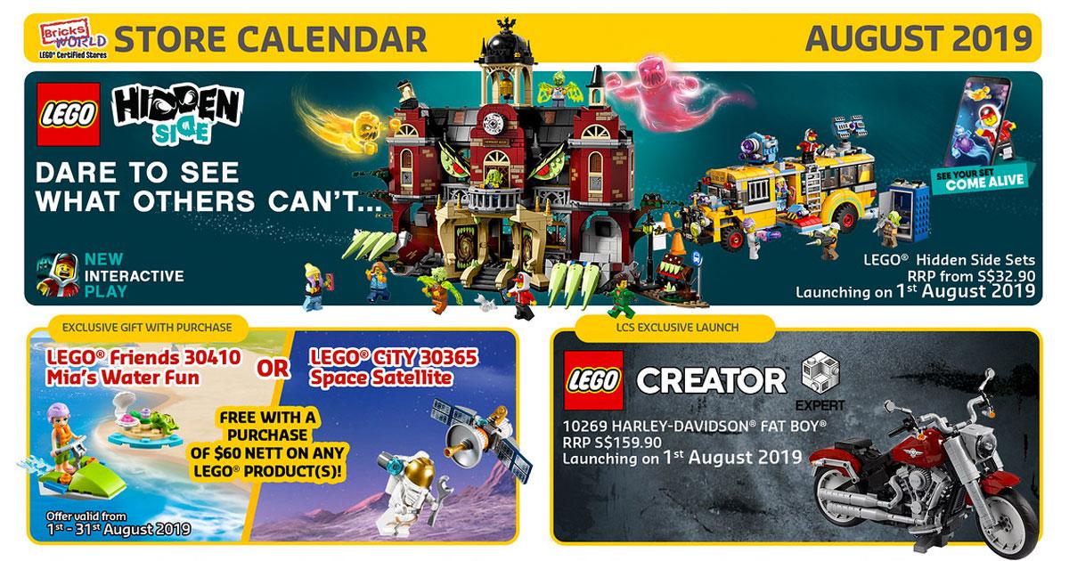 Brickfinder - Bricksworld LEGO Certified Store August 2019 Promotions!