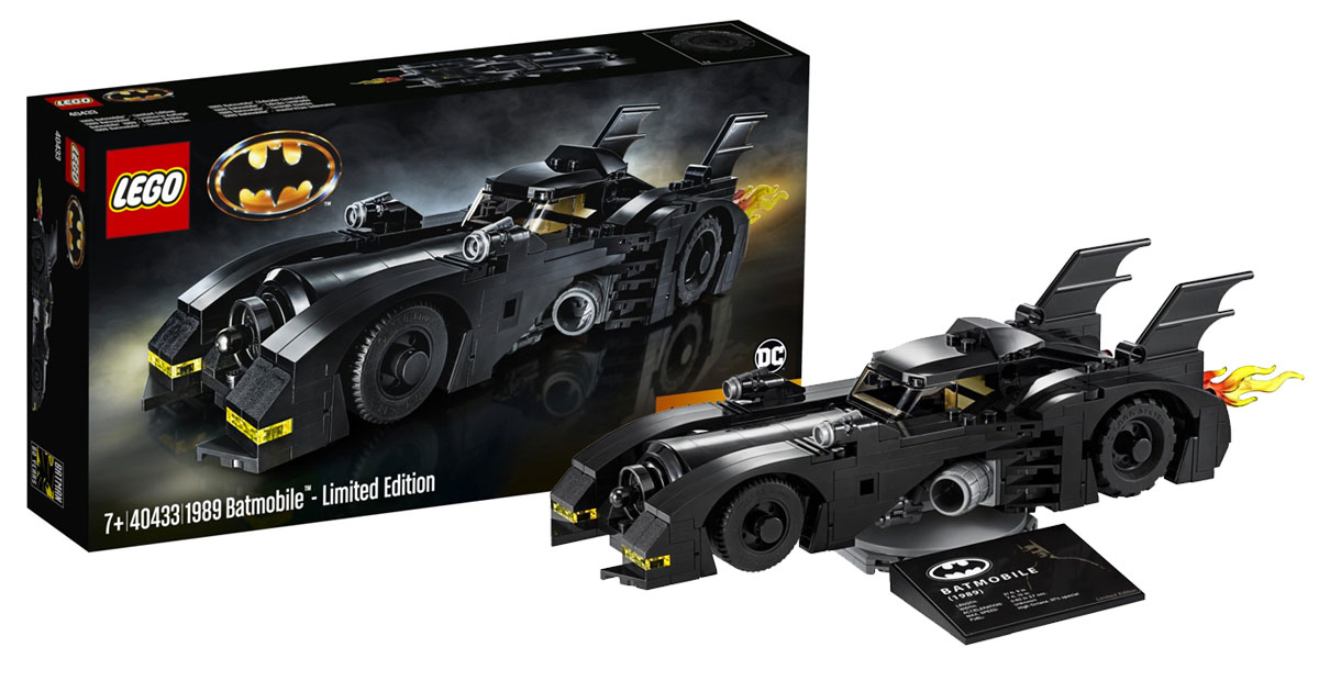 Brickfinder - LEGO 1989 Batmobile Limited Edition (40433) First Look!
