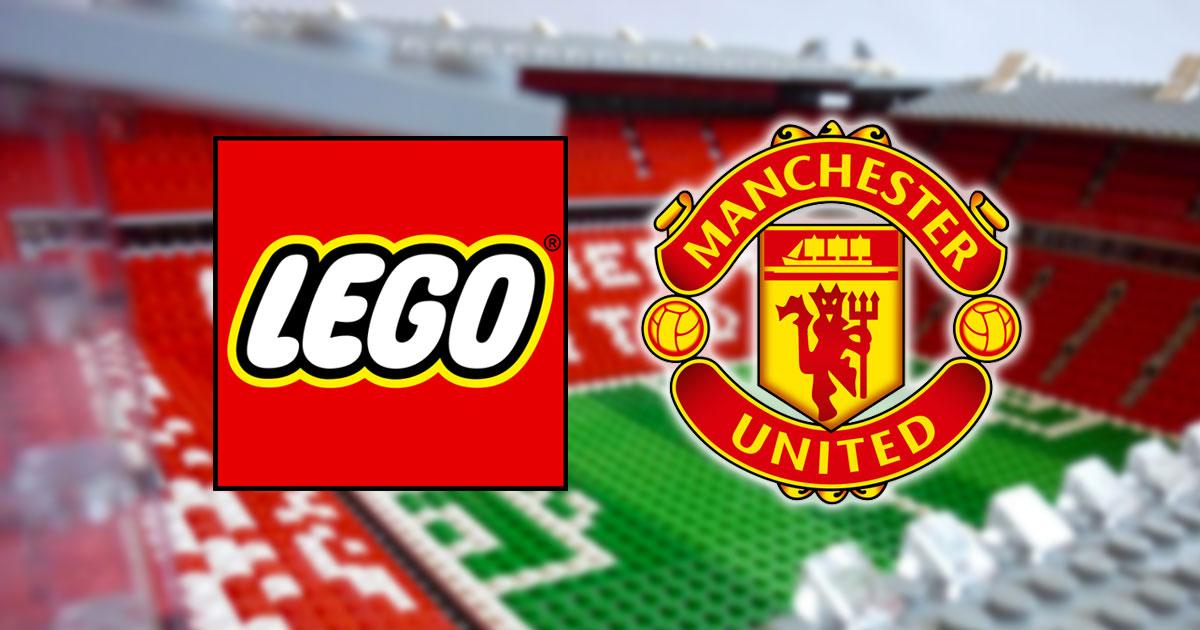 manchester united lego fans deal football club licenciamento acordo firma produce brickfinder landmark