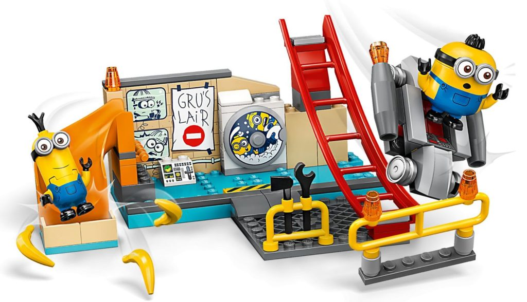 Brickfinder - LEGO Minions: The Rise of Gru Full Product Images