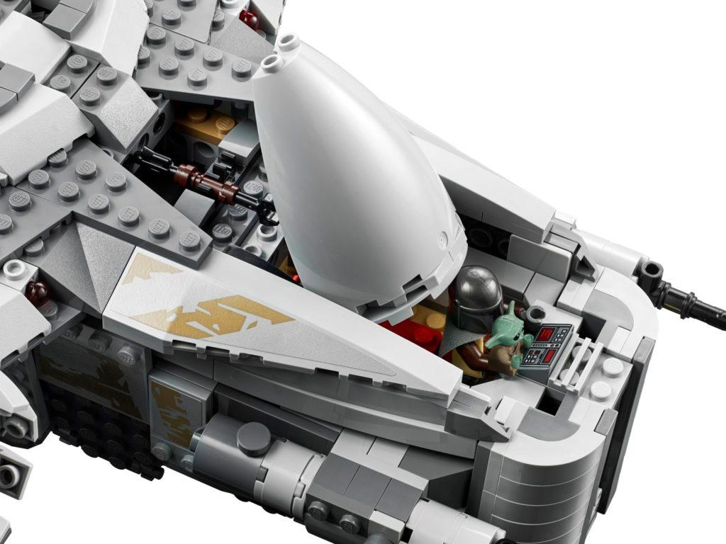 brickfinder  lego star wars razor crest 75292 complete
