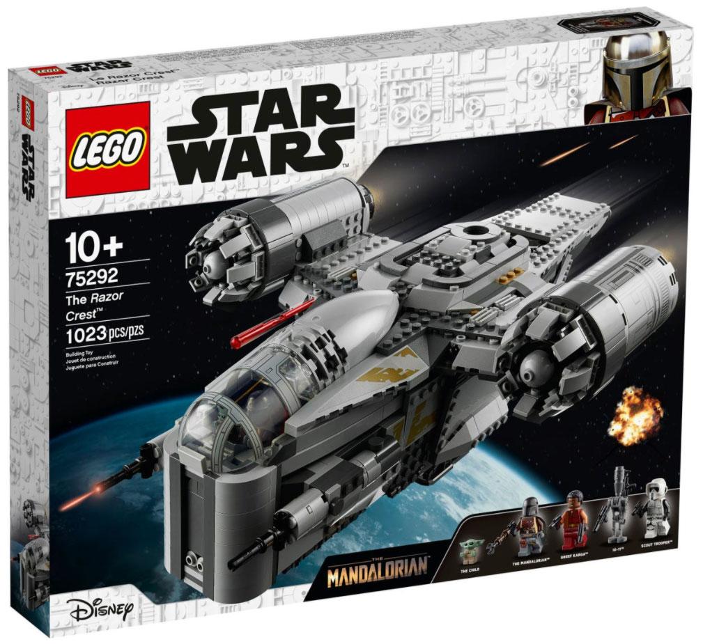 brickfinder  lego star wars the razor crest 75292